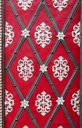 Medieval red doors. Prague. Czech Republic Photography