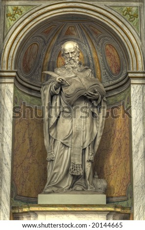 Medieval Religious Statue