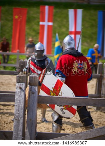 Medieval tournament knights fights recon                         #1416985307