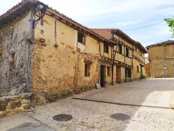 Medieval village of Calatañazor in Soria, Spain