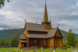 Medieval wooden stave churches all around Norway mostly built between 1150 and 1350. The Vikings leveraged their knowledge in boat and home construction to create unique christian architecture masterp