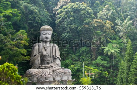 Shutterstock Meditating buddha in Genting highland feeling peace