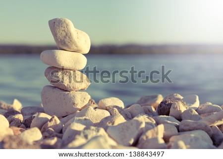 stock photo meditation 138843497 - Каталог — Фотообои «Природа, пейзаж»