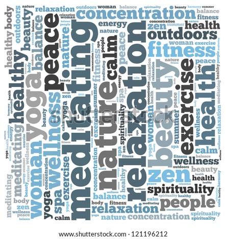 Meditation Text Meditation Info-text Graphics