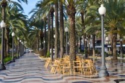 Mediterranean Boardwalk, Costa Blanca Alicante Spain