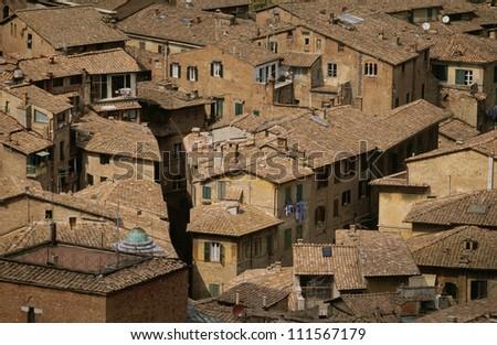 Mediterranean city of Tuscany, Italy