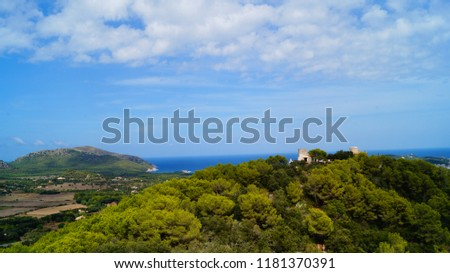 Mediterranean Majorcean coast #1181370391