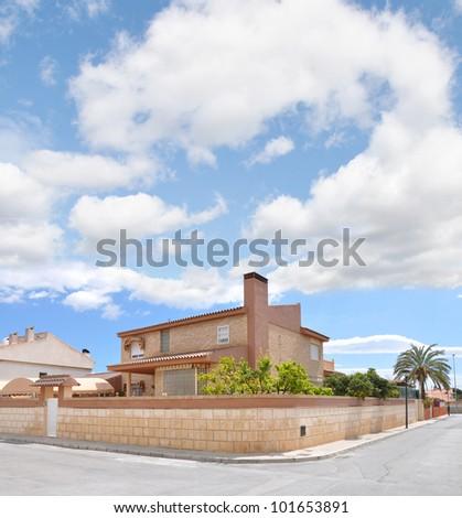 Mediterranean Neighborhood Home Spain Europe