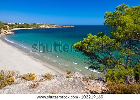 Mediterranean Sea off the coast of Spain near Valencia