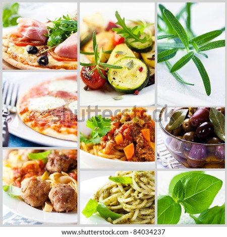 Mediterranean-style cuisine - stock photo