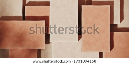 Mediterranean style mockup for product presentation. Terracotta platform with leaf shadow on  red stucco background. Clipping path of each element included. 3d rendering illustration.