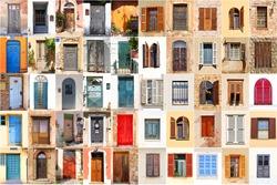 Mediterranean windows and doors