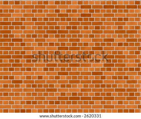 medium english brick wall background textured - stock photo