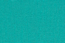 Medium Turquoise colored plain textured cardstock background image. Color swatch shade with copy space.