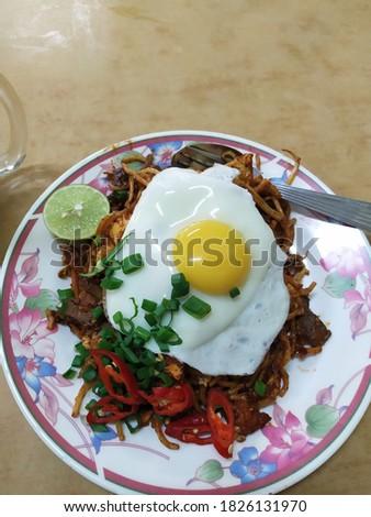 Mee Goreng Mamak Padu Beb Foto stock ©