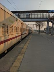 Meerut India - Train station background FEB 8, 2021