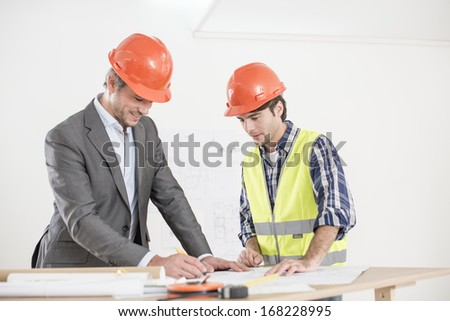 meeting about a build project