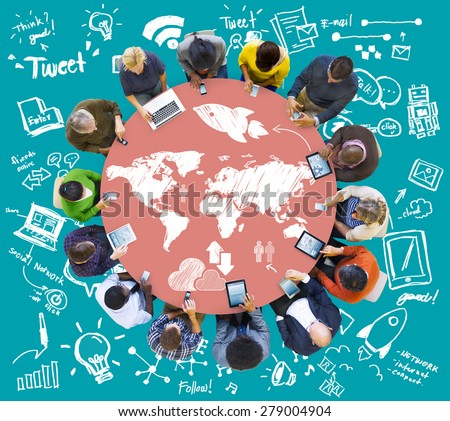 Meeting Brainstorm Round Table Ideas Communication Discussion Concept #279004904