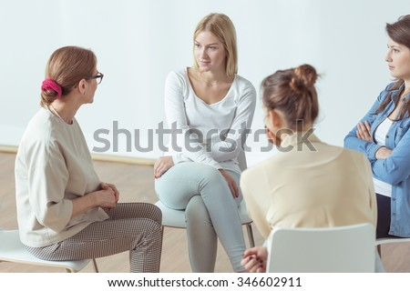 Meeting for young active women, support group