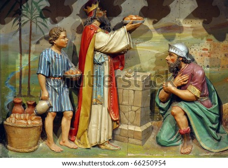 Meeting of Abraham and Melchizedek