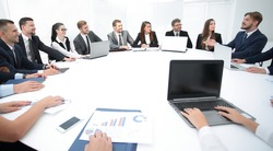 meeting of shareholders of the company at the round - table.