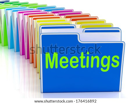 Meetings Folders