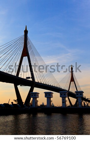 Mega bridge Thailand #56769100