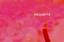 MEGABYTE - technology and business concept