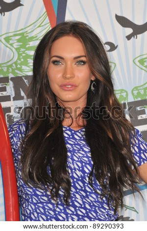 Megan Fox at the 2010 Teen Choice Awards at the Gibson Amphitheatre, Universal Studios, Hollywood, CA. August 8, 2010  Los Angeles, CA Picture: Paul Smith / Featureflash