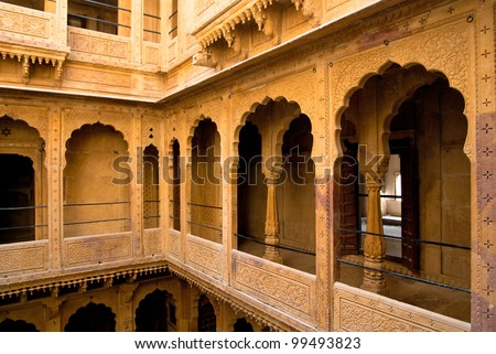 Mehrangarh house - stock photo