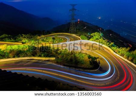 Meishan car track