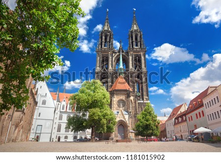 Meissen Cathedral church, Germany