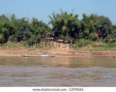 Mekong river, Laos, Southeast Asia