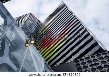 Melbourne Architecture  #554892829