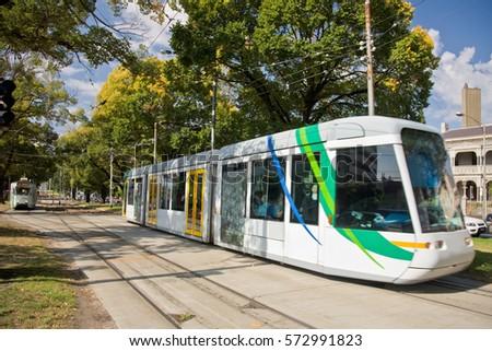 Melbourne Tram #572991823