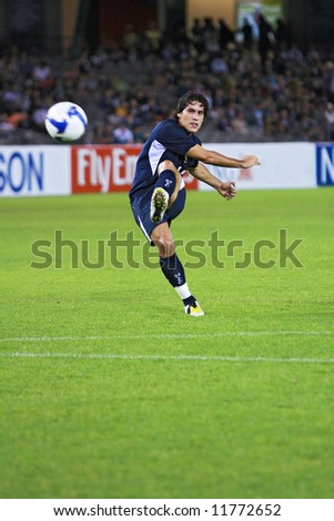 Melbourne Victory FC vs Gamba Osaka - Telstra Dome, 9th April '08 (#14 CACERS, Adrian)
