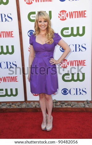 Melissa Rauch, star of The Big Bang Theory, at the CBS Summer 2011 TCA Party at The Pagoda, Beverly Hills. August 3, 2011  Los Angeles, CA Picture: Paul Smith / Featureflash