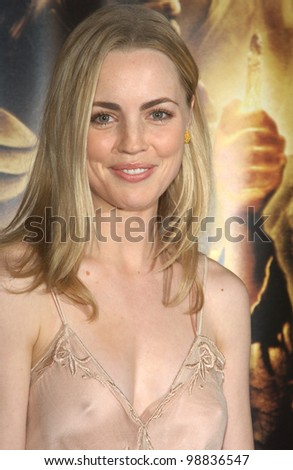 MELISSSA GEORGE at the USA premiere of The Lord of the Rings: The Return of the King, in Los Angeles. December 3, 2003  Paul Smith / Featureflash