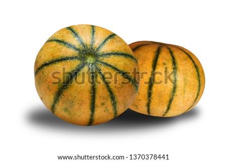 Melon Healthy Juicy Fruit #1370378441
