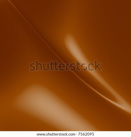 Melting milk chocolate curves
