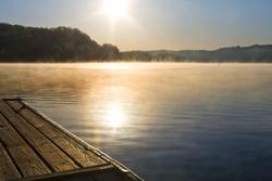 Melton Hill Lake, Oak Ridge, Tennessee.