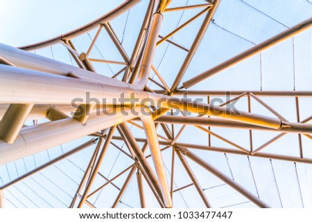 Membrane structure of steel structure #1033477447