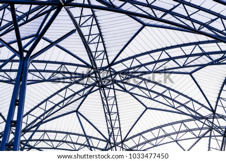 Membrane structure of steel structure