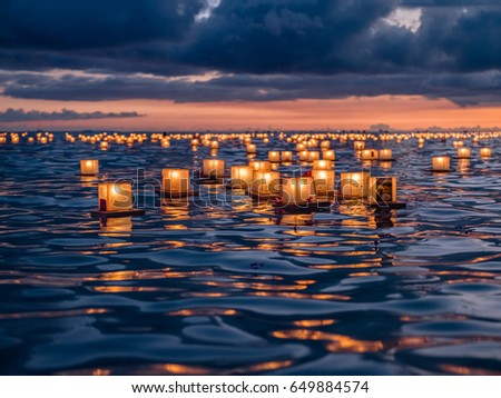 Memorial Day Lantern Festival - Oahu, Hawaii