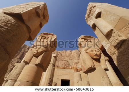 Memorial Temple of Hatshepsut. Luxor, Egypt