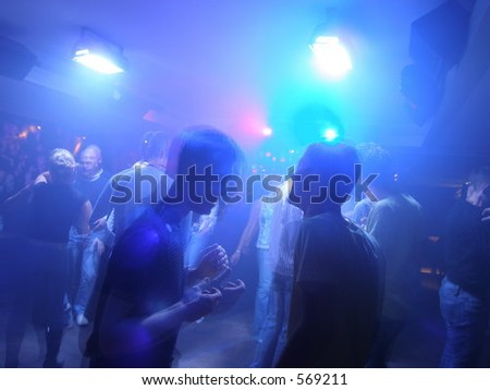 Men from club - stock photo