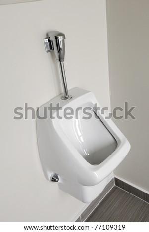 Men lavatory in modern building