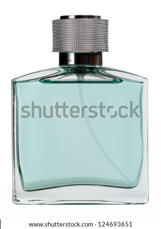 Men perfume. Bottle spray