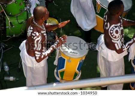 men playing drum.