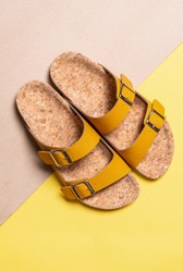 men's and women's (unisex) fashion leather sandals